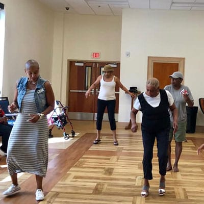 Jazzercise classes at lutherans towers